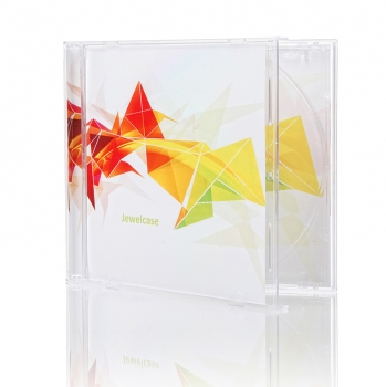 Jewelcase mit bedruckter Covercard