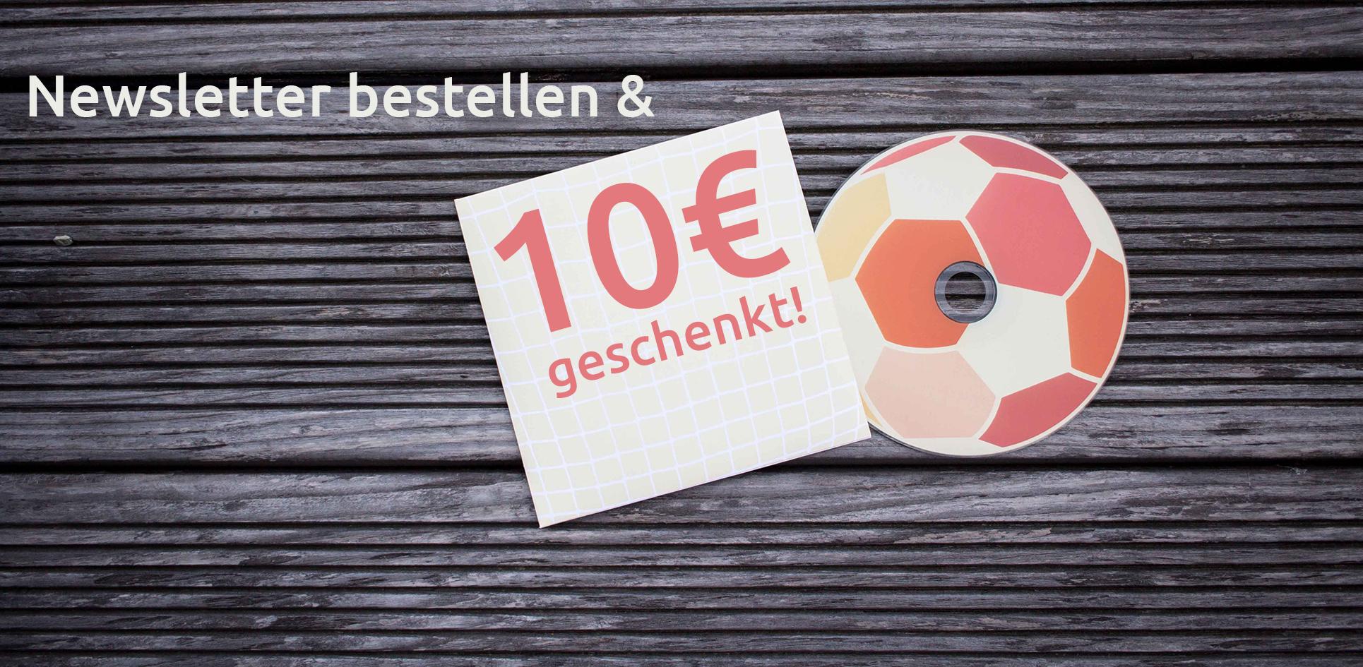 CDs bedrucken lassen und 10€ sparen!