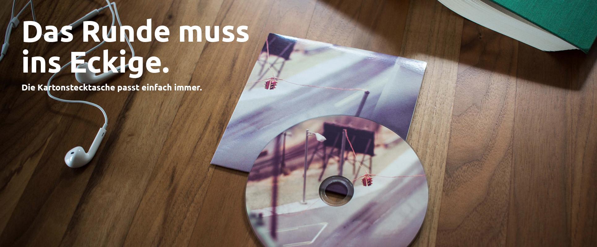 Bedruckte CDs und Digipacks von cdherstellung24