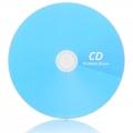 Bedruckte CD mit Kartonstecktasche