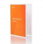 DVD-Box mit bedrucktem Inlay
