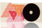 Bedruckte CD mit Digipack ab 50 Stück